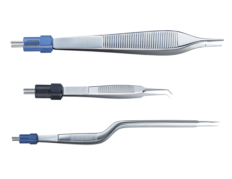 medical macro product photography of forceps