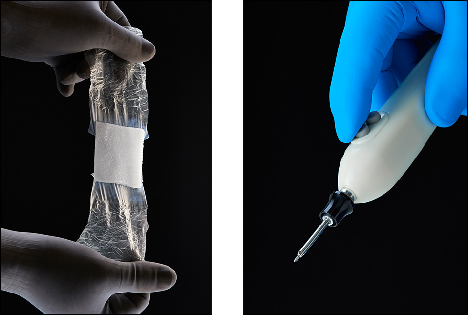 medical products with hands